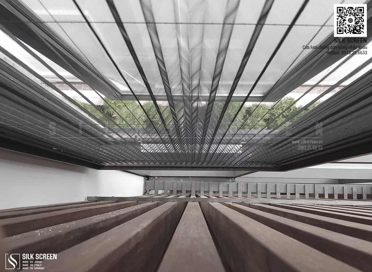 Lắp đặt cửa lưới chống côn trùng Silk Screen tại Anh Đào Villas