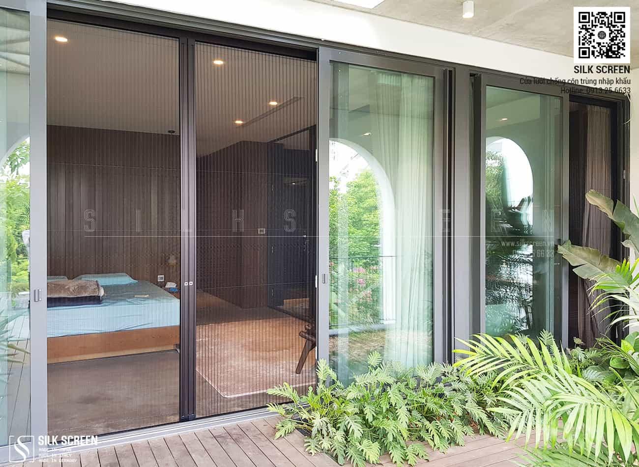 Cửa lưới chống muỗi Metaco Nhật Bản - Biệt thự Anh Đào