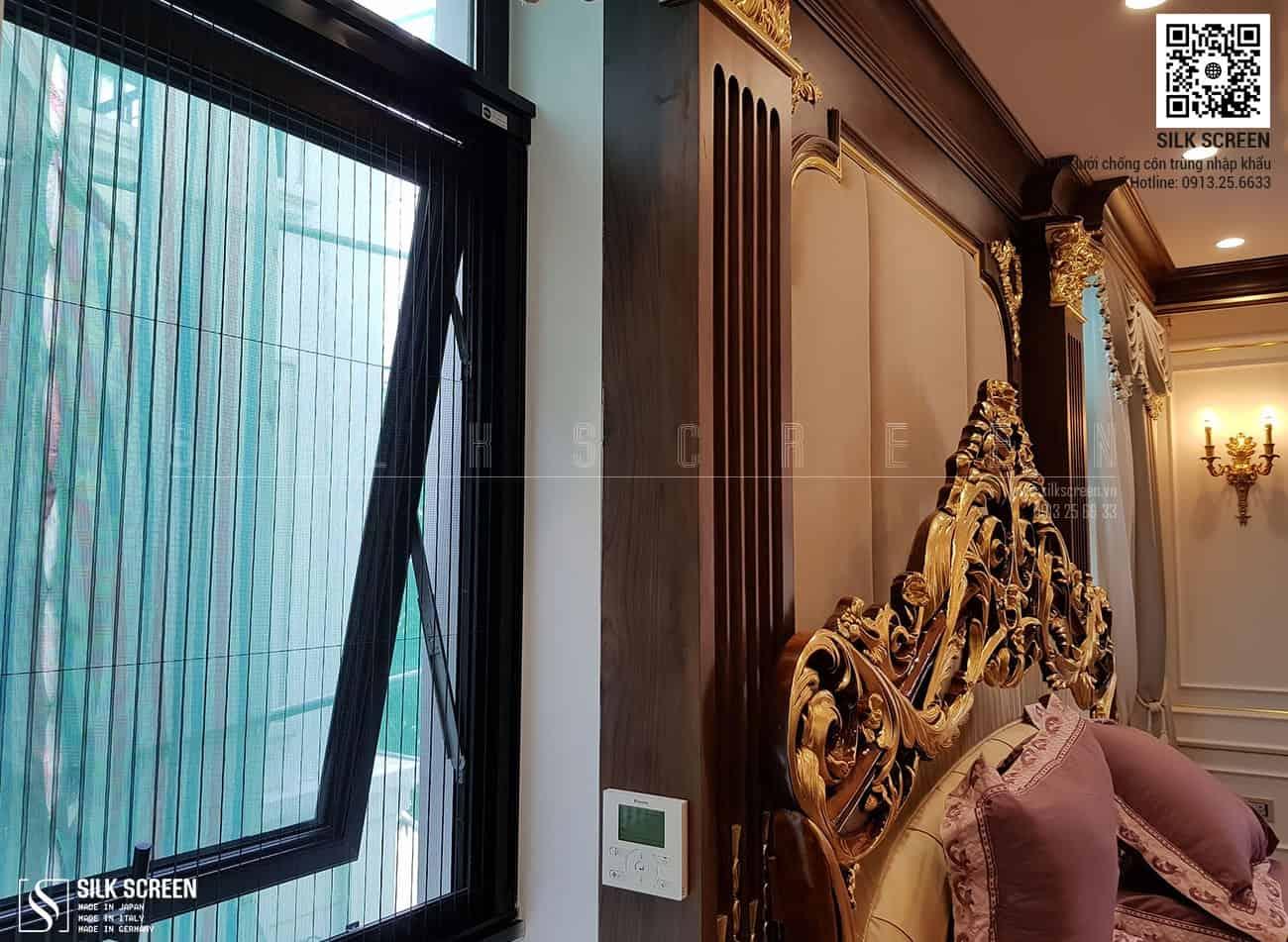Công trình Cửa lưới chống muỗi Silk Screen tại Lâu Đài Ninh Bình