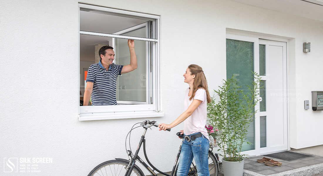 cửa lưới chống muỗi dành cho cửa sổ