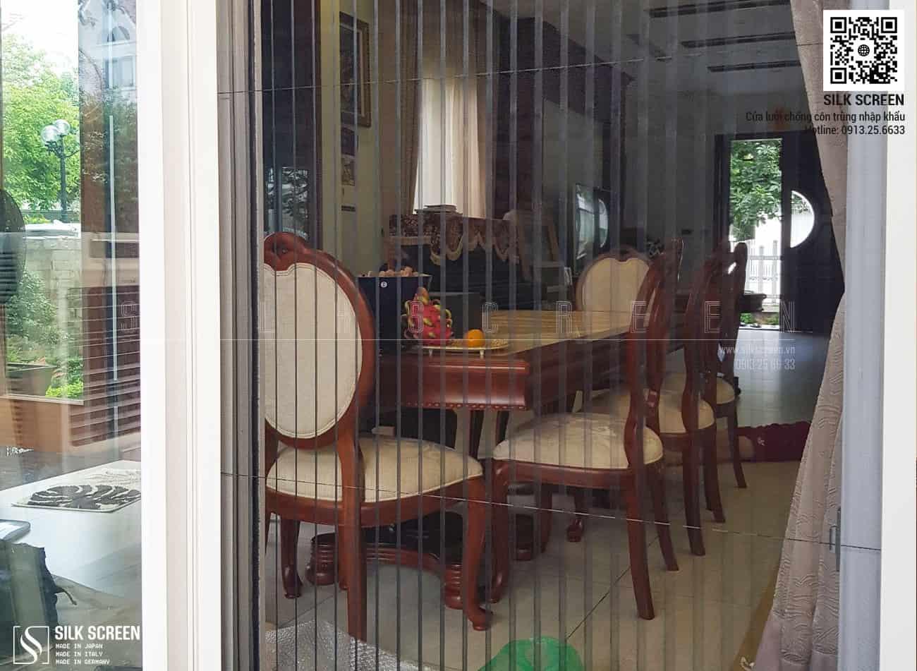 Cửa lưới chống muỗi Metaco - Hoa Sữa Villas