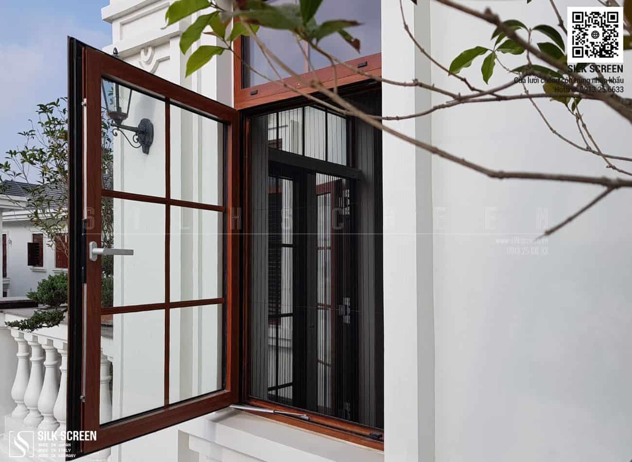 Ảnh cửa lưới chống muỗi lắp đặt cửa sổ tại Biệt thự Thạch Thảo 25