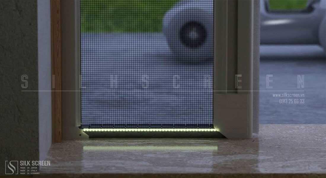 cận cảnh cửa lưới chống muỗi bettio
