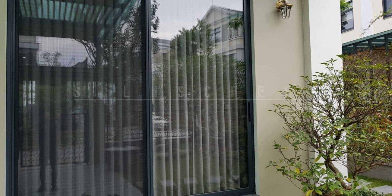 cửa lưới chống muỗi dạng lùa