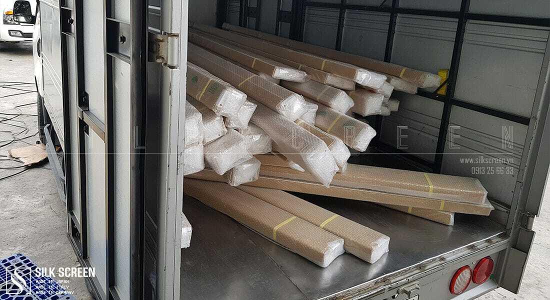 sản phẩm cửa lưới khi về đến Việt Nam